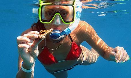 маска для подводного плавания магазин
